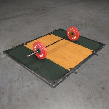 Vulcan Deadlift Platform is another mid-price deadlift platform for home gyms that suits everyone from novice to athletes
