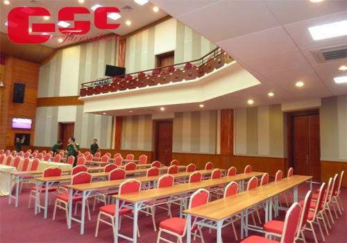 Một mẫu ghế hội trường do GSC cung cấp