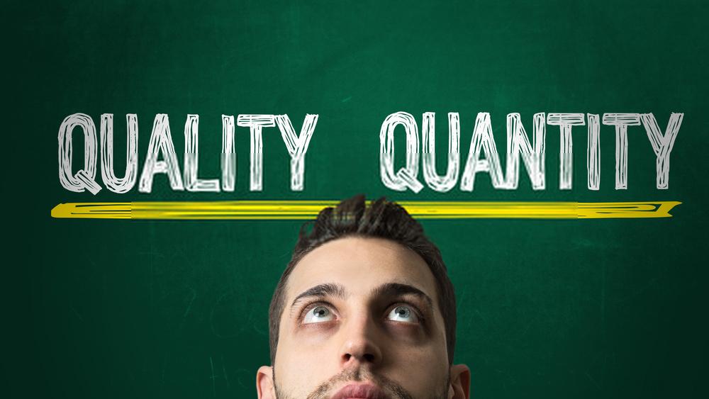 Kuantitas Tidak Sama Dengan Kualitas