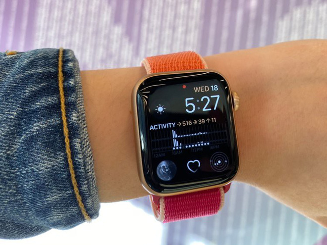 Apple Watch Series 5 sử dụng vi xử lý giống hệt Series 4 - Ảnh 1.