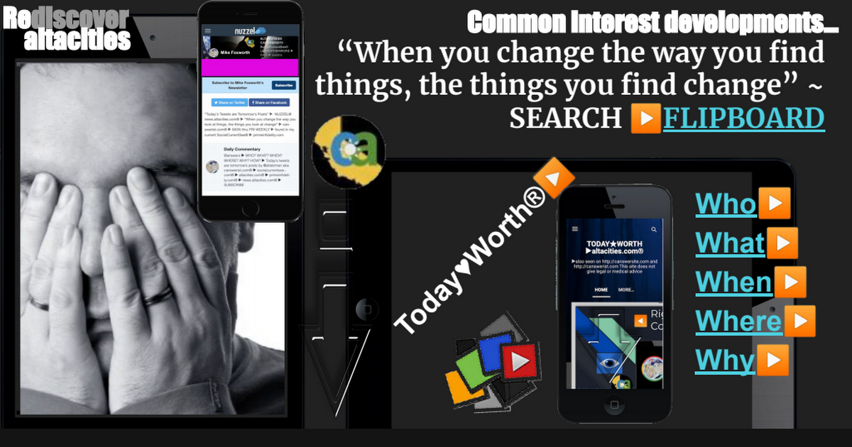 Flip③ ▶ 3.29.21 ▶ reDISCOVER SocialCurrentSee® by ALTACITIES.com®