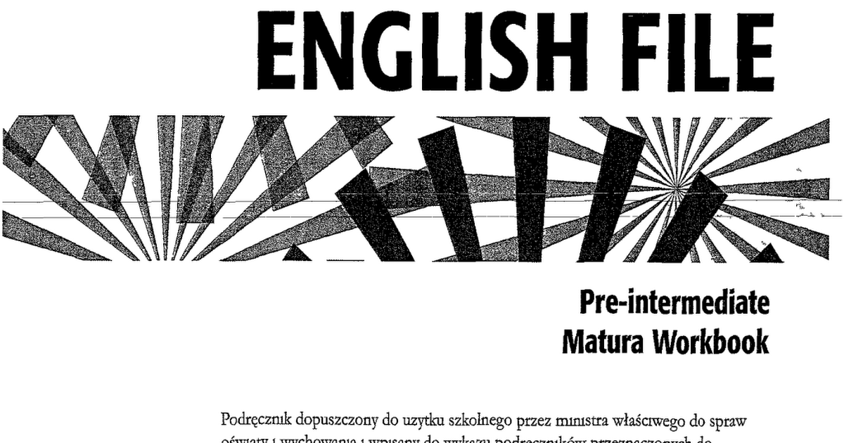New English File Pre Intermediate Workbook Pdf Google Drive