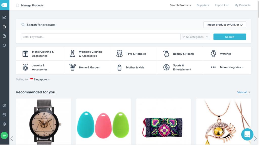 Hướng dẫn đăng sản phẩm từ Aliexpress lên Shopify với Oberlo