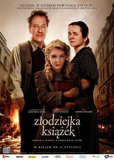 Przód ulotki filmu 'Złodziejka Książek'