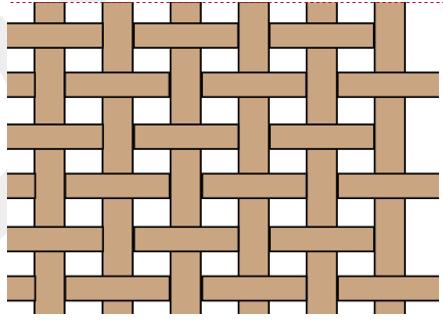 Abbildung 1 vorimprägnierter Faserverlauf beim Stackup erstellen