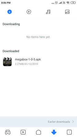 Install MegaBox HD on Android Smartphones