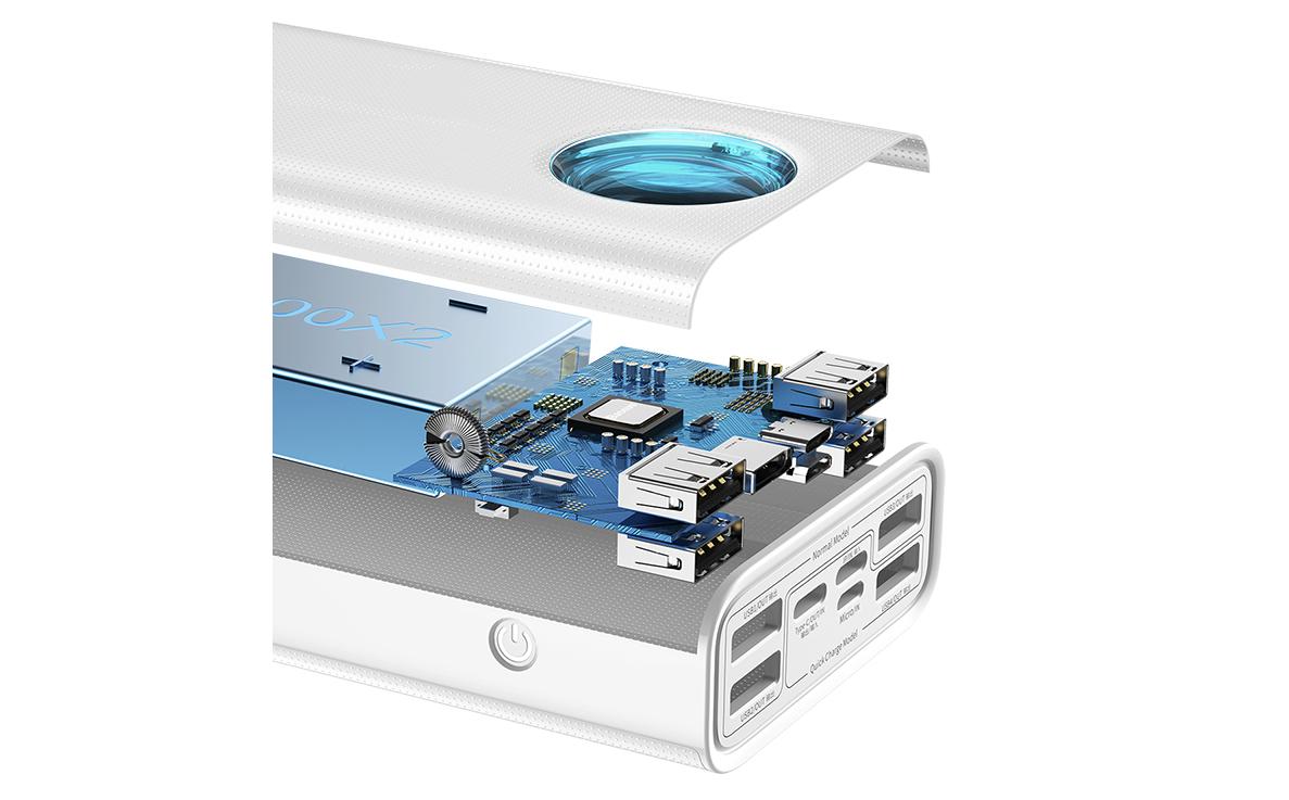Baseus Amblight Digital Display Quick Charge Power Bank 30000mAh 65Wの詳細画像