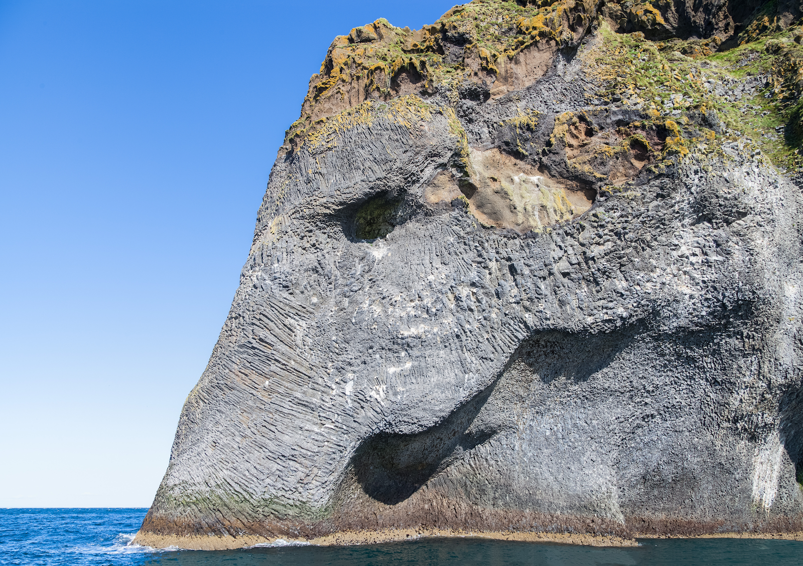 Elephant Rock in Westman Islands