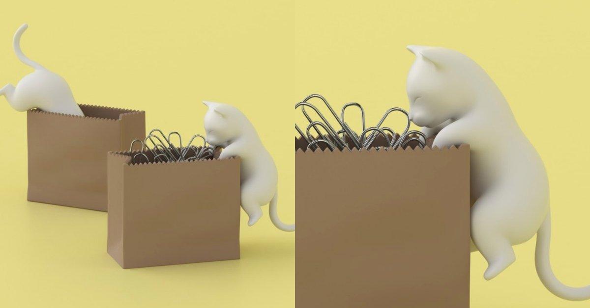 療癒 文具 可愛 貓
