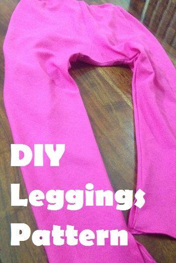 cómo hacer unos leggings - bricolaje