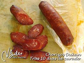 Chorizo #Dukan Curado de ternera