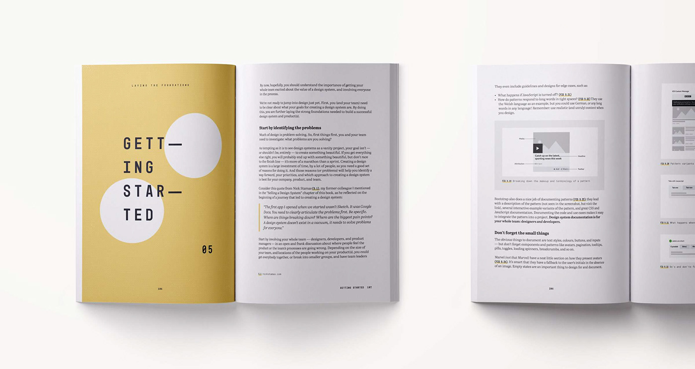 Laying the Foundations - Book about design systems