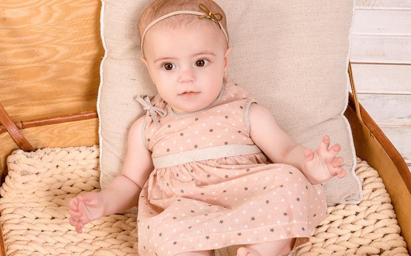vestido para bebé verano minutus bebe