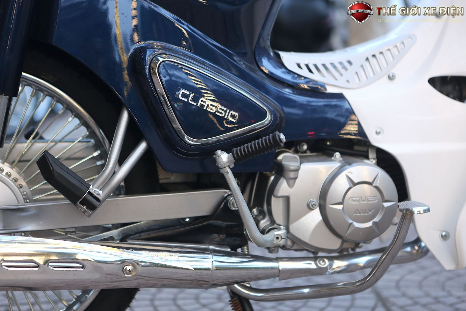 Xe máy Cub 50cc Korea classic