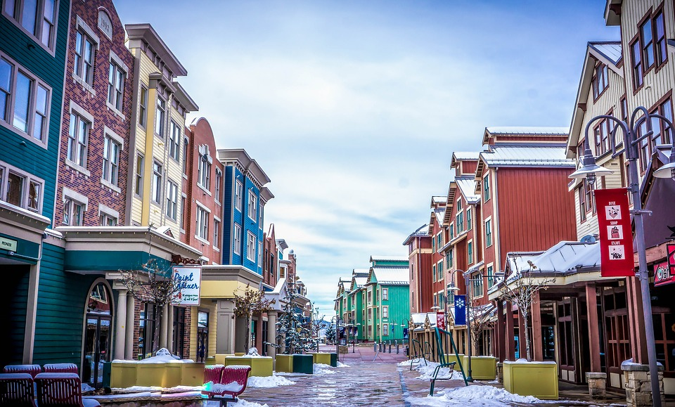 Park City, Utah, Town, Adventure, Colorful, Travel, Tour