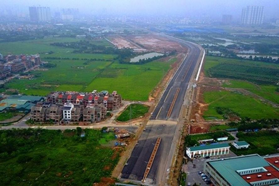 Trục đường Nguyễn Xiển – Xa La nối kết với đường trục Tây Nam Hà Nội