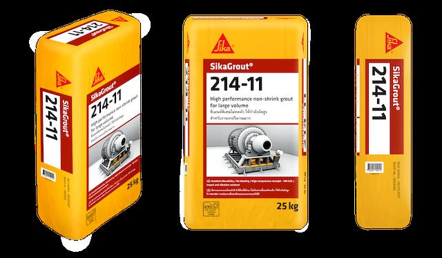Sika grout 214-11 có đặc tính kháng va đập hiệu quả