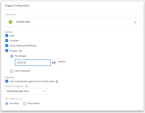 Can you track youtube videos in Google Analytics?