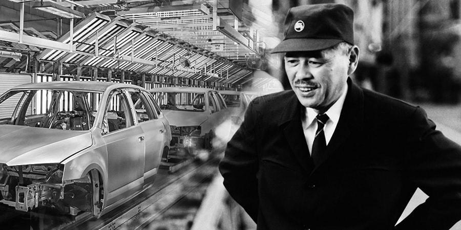 Người sáng lập ra hệ thống sản xuất tinh gọn Toyota