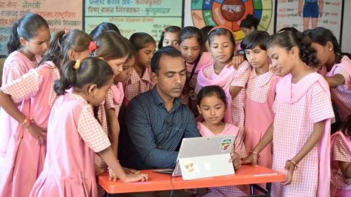 Global Teacher Prize winner Ranjitsinh Disale. From youtube.com