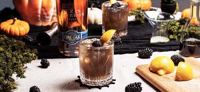 Halloween Cocktails Courtesy of Fire Oak Distillery