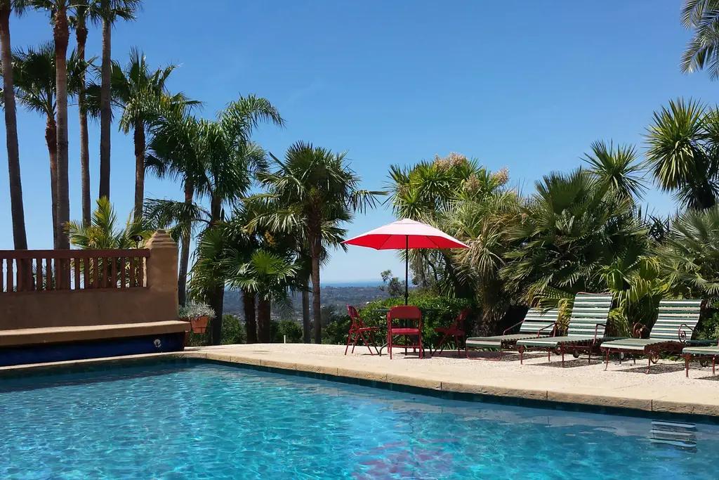 spanish mission airbnb santa barbara