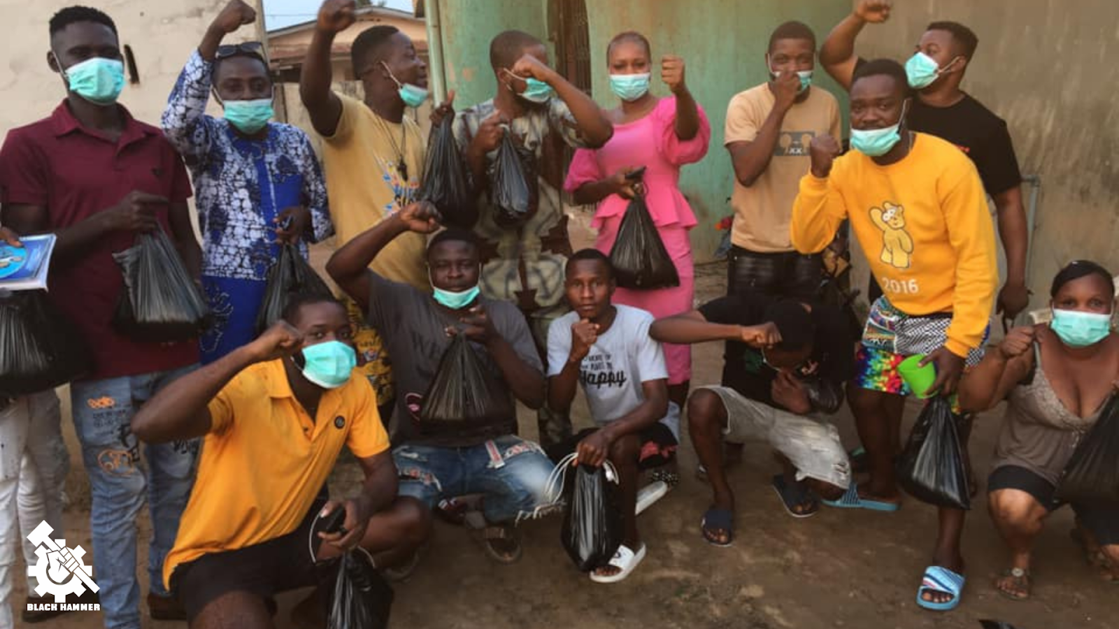 Nigeria Chapter passing out PPE, not waiting for the sellout government to act