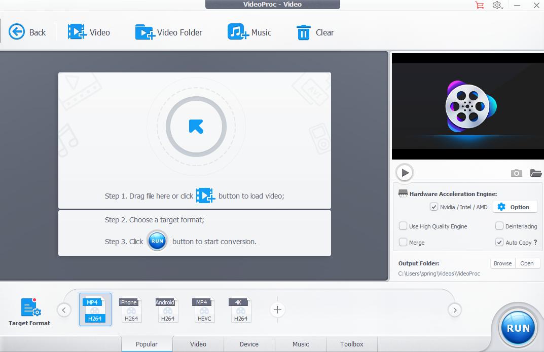 VideoProc GoPro Editor