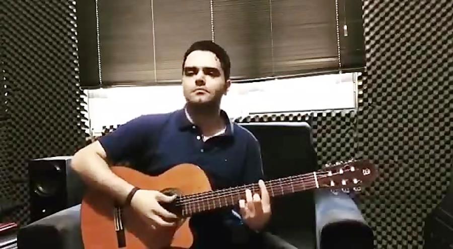 فرزین نیازخانی تکنوازی گیتار آهنگساز فرزین نیازخانی
