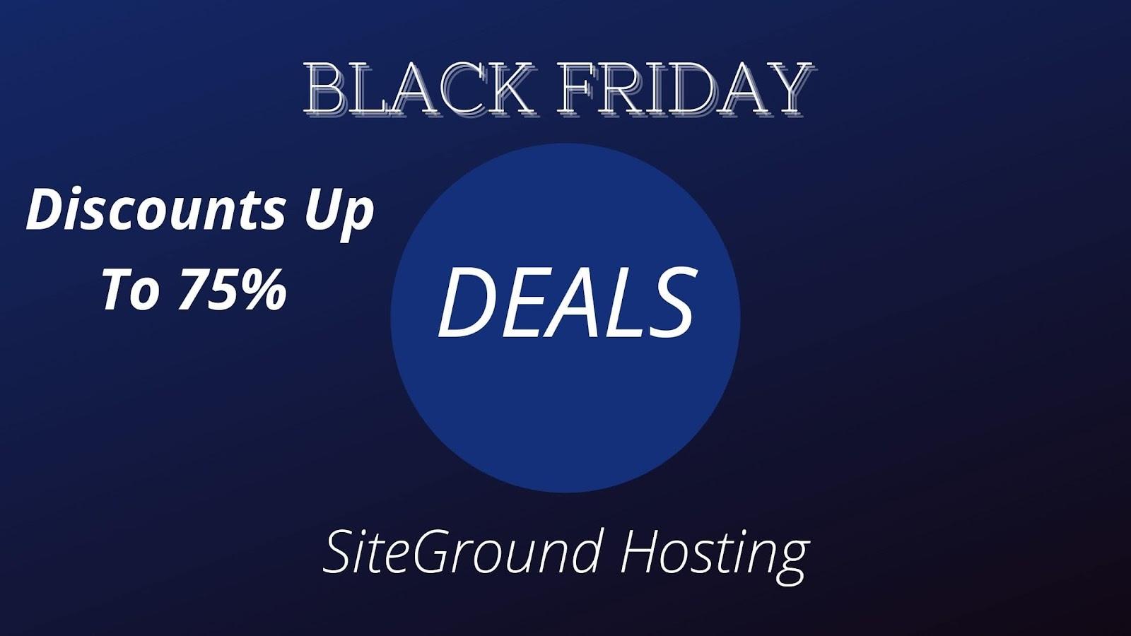 SiteGround: 75% Off