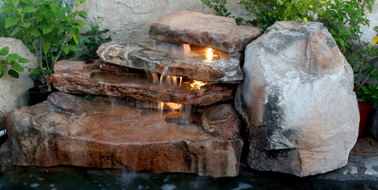 Water Features Premier Pools