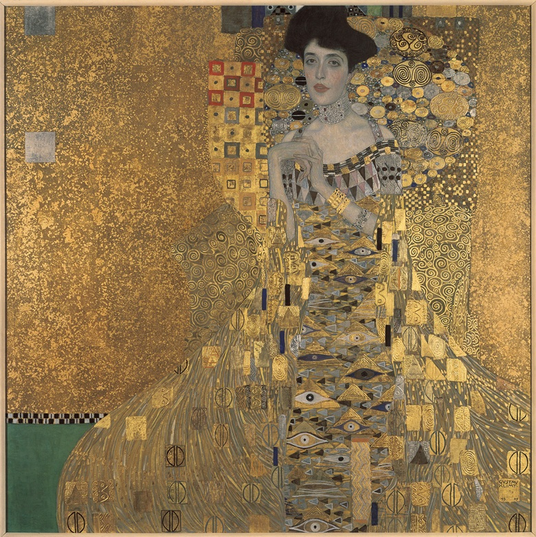 Gustav Klimt (1862-1918), Adele Bloch-Bauer I, 1907. Oil, silver, and gold on canvas. © 2015. Neue Galerie New YorkArt ResourceScala, Florence