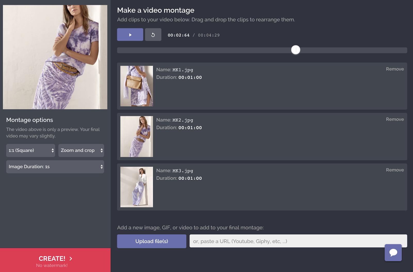 Montage Maker Screenshot