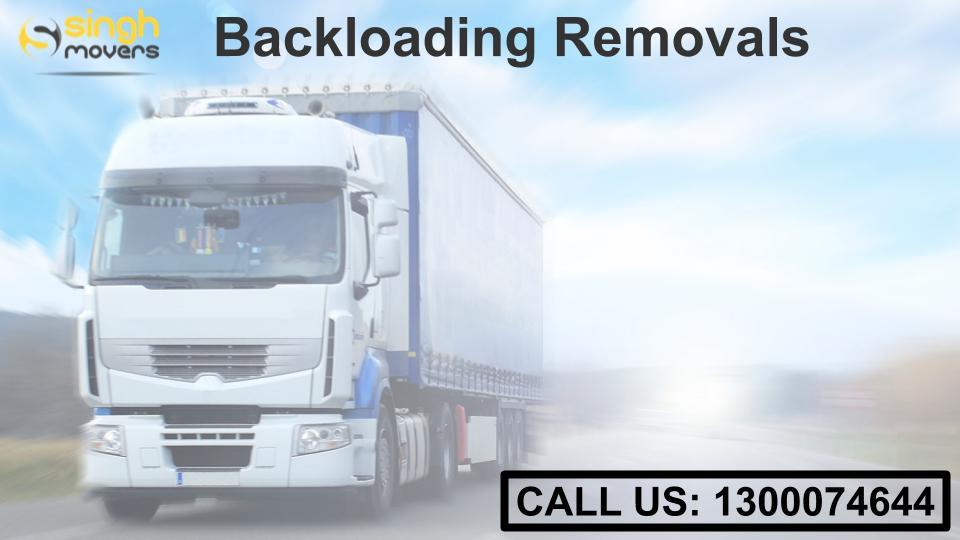 backloading removals