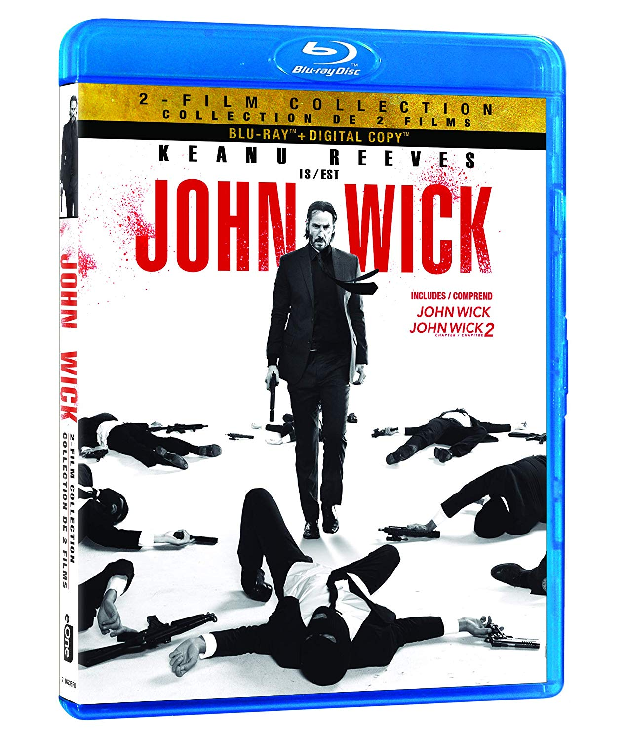 John Wick is a great action thriller, I bet dad would love it!