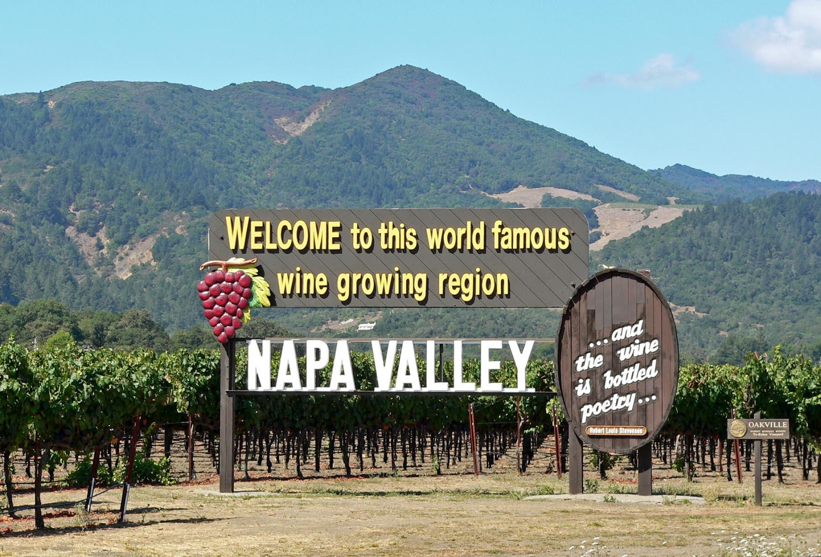 File:Napa Valley welcome sign.jpg - Wikimedia Commons