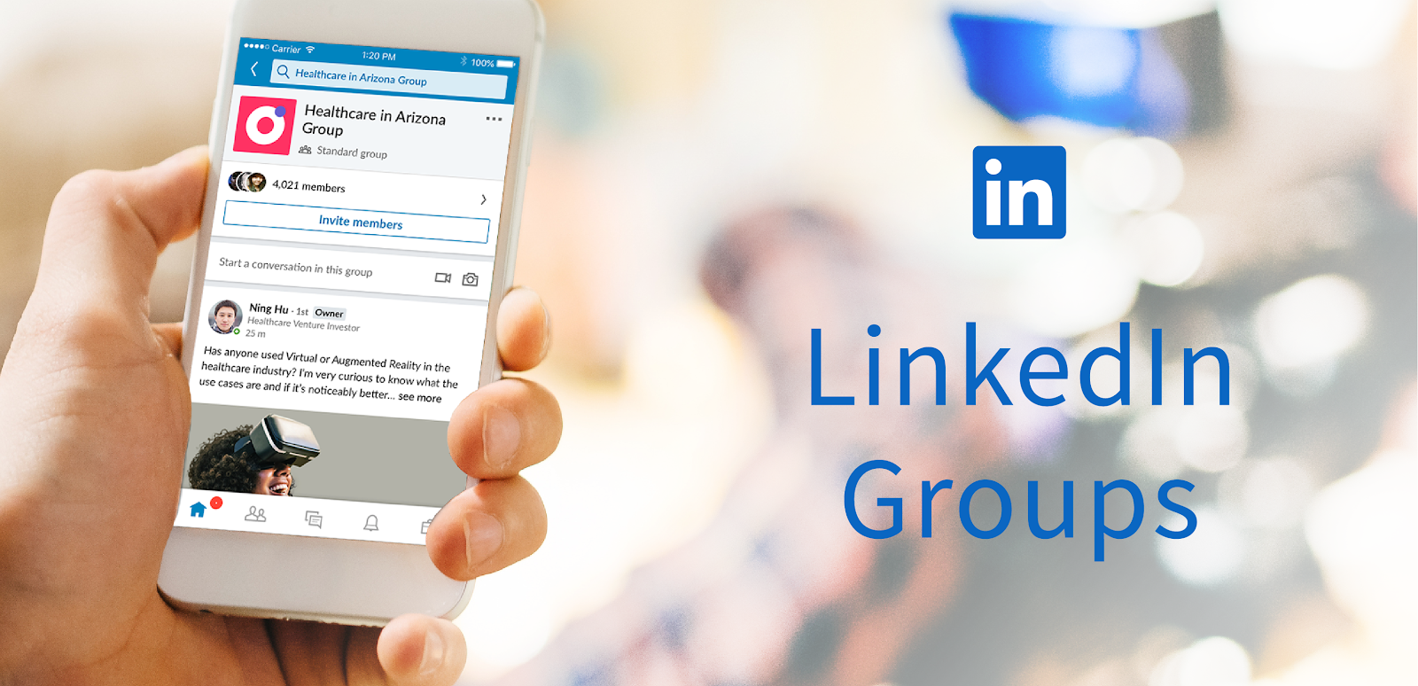LinkedIn Groups are a great way of generating new leads