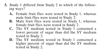 Sample Question_ACT Science