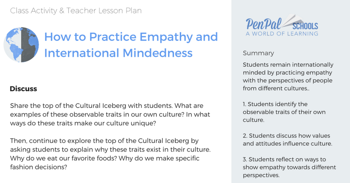 How to Practice Empathy and International Mindedness pdf