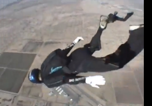 skydiving tracking