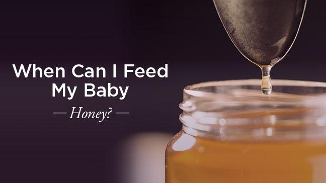 Image result for when to start honey for baby