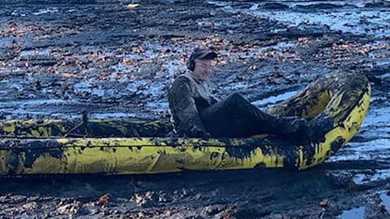 Massachusetts firefighters rescue man stuck chest-deep in ...