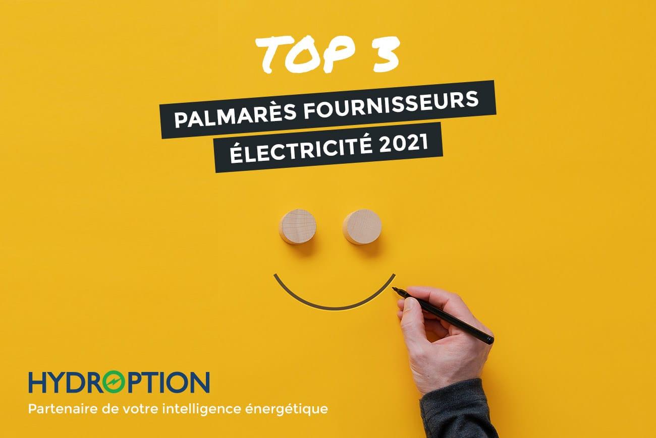 Hydroption - Top 3 Palmarès fournisseurs 2021