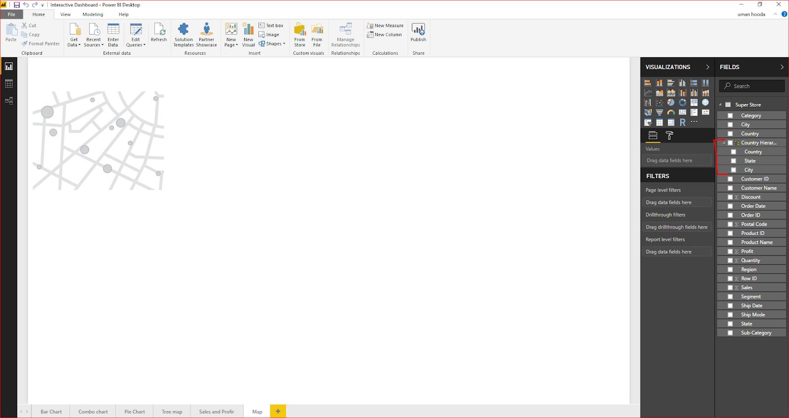 Interactive Dashboard In Microsoft Power BI 50