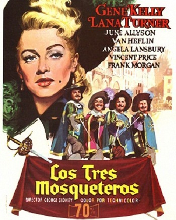 Los tres mosqueteros (1948, George Sidney)