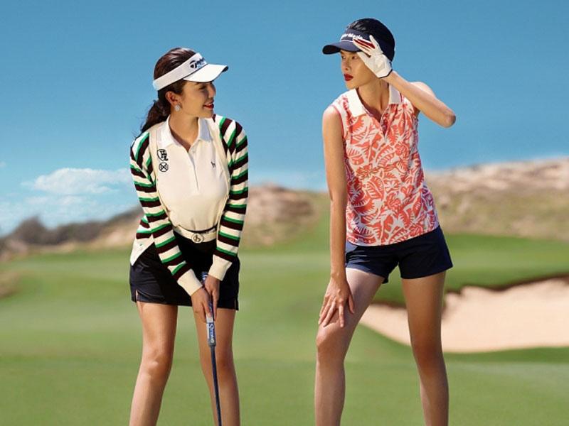 Sự đa dạng trong thiết kế của thời trang golf nữ