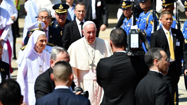 El Papa visita Tailandia y aviva la pelea contra la explotación sexual