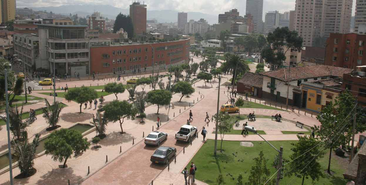 Jimenez Avenue and Eje Ambiental, Bogota, Colombia