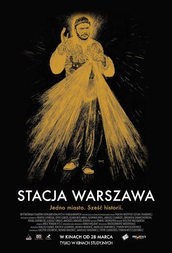 Polski plakat filmu 'Stacja Warszawa'