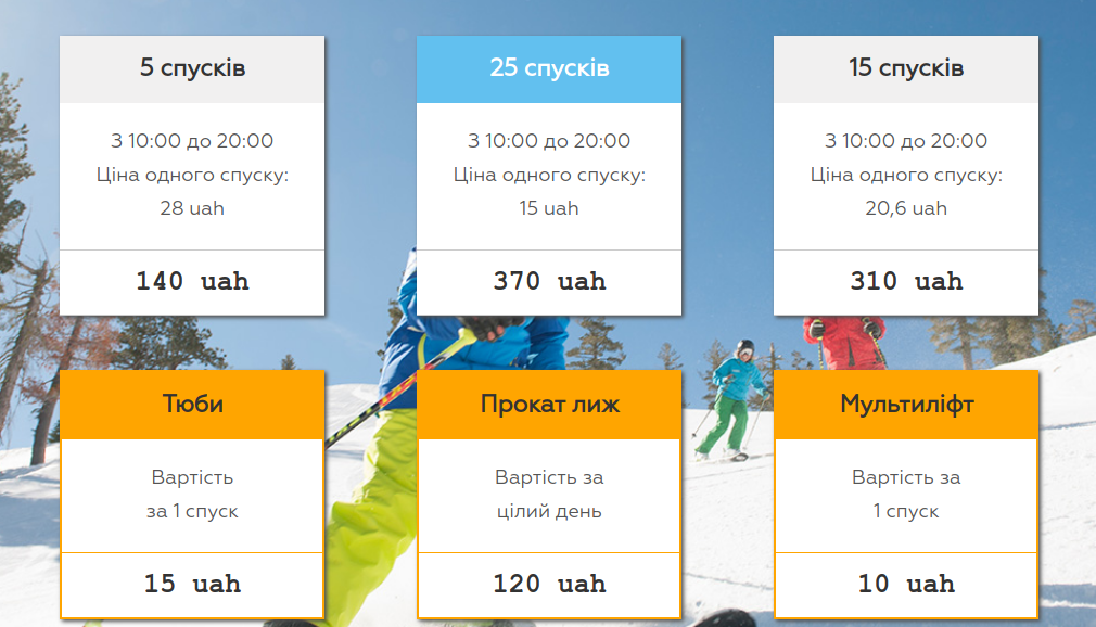Де покататися на лижах: курорти неподалік Львова, - ЛОКАЦІЇ, ВАРТІСТЬ, ГРАФІК РОБОТИ, фото-6